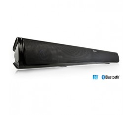 Barre de son Bluetooth® 4.0 noir piano