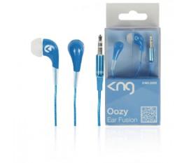 ECOUTEURS OOZY BLEU - EAR FUSION KNG