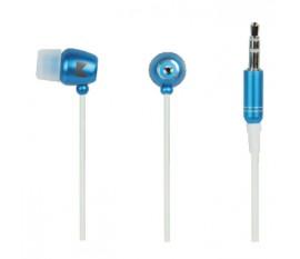 Écouteurs intra-auriculaires bleus