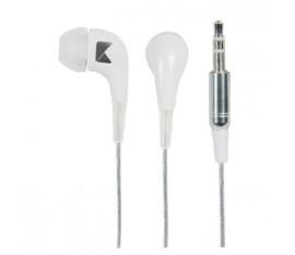 Écouteurs intra-auriculaires blancs