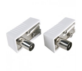 Kit Connecteur Mâle-Femelle d'Antenna IEC