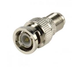 BNC plug - female contra adapter high quality