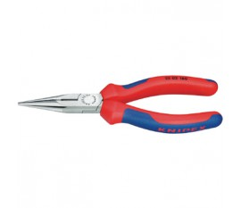 Chain nose side cutting plier, stork beak plier, 160 mm