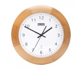 Horloge murale radio pilotée 32 cm