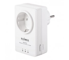 Edimax 500Mbps Nano PowerLine Adapter with Integrated Power Socket
