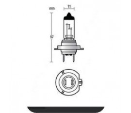 Headlight H7 55 W