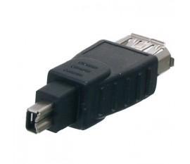FireWire adapter 4p male - 6p female