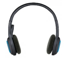 H600 wireless headset black / blue