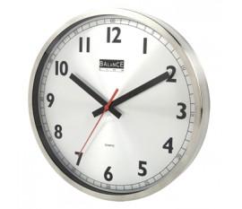 RVS Horloge murale
