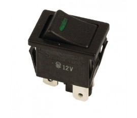 1-POL Rocker Switch 12V On-Off