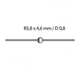 Si-d 1000 V 2 A / 50Ap 2.5us