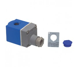Solenoid valve with therminal box