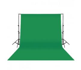 Toile de fond verte 3x3 m