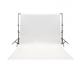 Toile de fond blanche 3x2 m