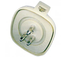 Telephone plug 3 PIN/6P-4C