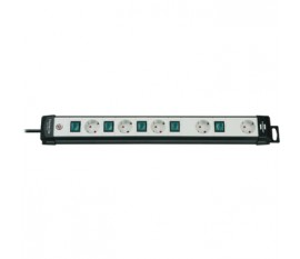 Extension socket Premium-Line 5x1-way bl/gr H05VV-F 3G1,5