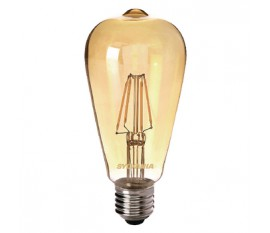 ST64 D'or 400LM 827 ampoule a filament LED E27 4W