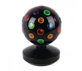 Multi-colour disco ball