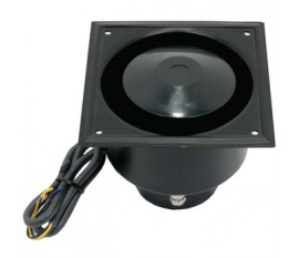 Haut-parleur à pavillon intégré 100 V