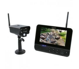 """Système de caméra sans fil 2.4GHz numérique avec moniteur 7"""""""