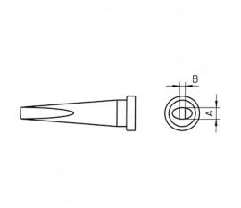 Panne à souder tournevis longue 2mm LTL