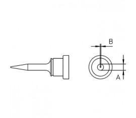 Panne à souder aiguille courte 0.15mm LT1SC