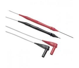 Cordons de mesure à pointe rétractable, rouge/noir
