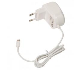 Chargeur CA Lightning mâle – connecteur CA blanc 1,00 m pour maison 2.4A