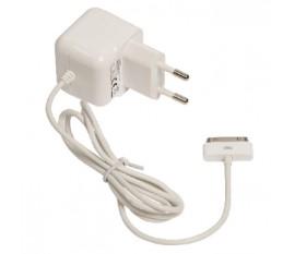 Socle de chargement CA mâle 30 broches pour connexion 30 broches – connecteur CA blanc 1,00 m pour maison 2.1A
