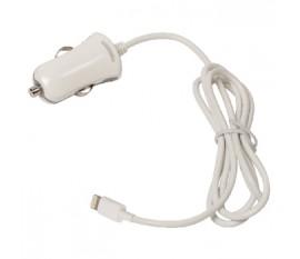 Chargeur Lightning mâle pour connecteur Lightning pour voiture – connecteur noir 1,00 m 12 V pour voiture 2.4A