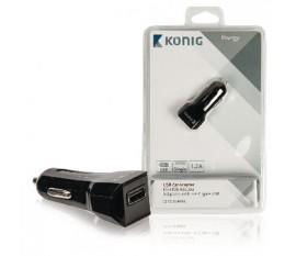 Adaptateur allume cigare USB universel 1,2A
