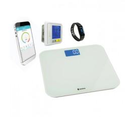 Bracelet d'activité + pèse-personne + tensiomètre de poignet Bluetooth®