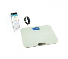 Bracelet d'activité + Pèse-personne avec IMC Bluetooth®