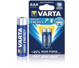 Battery alkaline AAA/LR03 1.5 V High Energy 4-blister