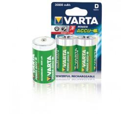 Batteries NiMH D/LR20 1.2 V 3000 mAh R2U 2-blister
