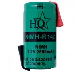 Pack accus NiMH 1.2 V 2500 mAh