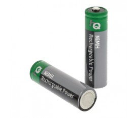 4piles AA Ni/MH rechargeables 1300mAh sous blister