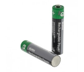 4piles AAA Ni/MH rechargeables 700mAh sous blister