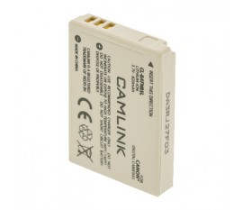 Batterie rechargeable pour appareils photos numériques 3.7 V 820 mAh