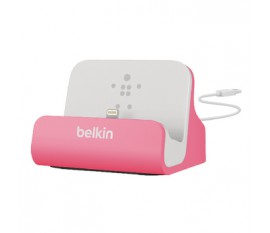Station d'accueil charge et syncro pour iPhone 5 - rose