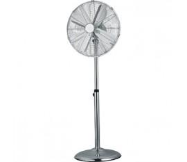 Ventilateur sur pied chromé 40 cm à 3 vitesses