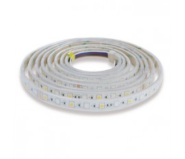 Bande de LED facile à poser RVB + W intérieur/extérieur 60LED/m 3m