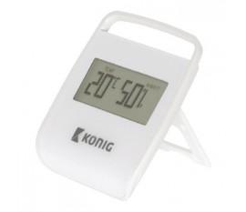 Thermomètre/hygromètre intérieur blanc