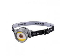 Lampe frontale 1 LED Noir / Blanc