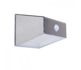Applique murale solaire LED Argent