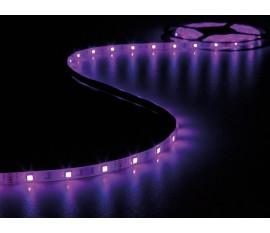 RUBAN À LED FLEXIBLE, CONTRÔLEUR ET ALIMENTATION - RVB - 150 LED - 5 m - 12 Vcc