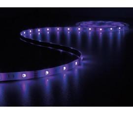 ENSEMBLE DE FLEXIBLE LED PILOTÉ PAR MUSIQUE - RVB - 150 LED - 5 m - 12 VCC