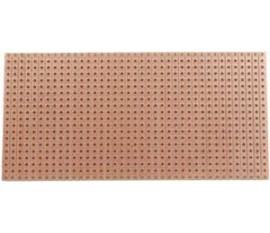 Platine d'essai à pastille 1 trou - 160x100mm