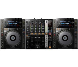 Pack Pioneer : 2 x CDJ-900 NXS + DJM-750-K