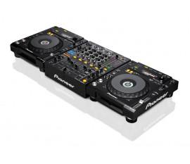 Pack pioneer : 2 x CDJ-850 + DJM-850 Noir